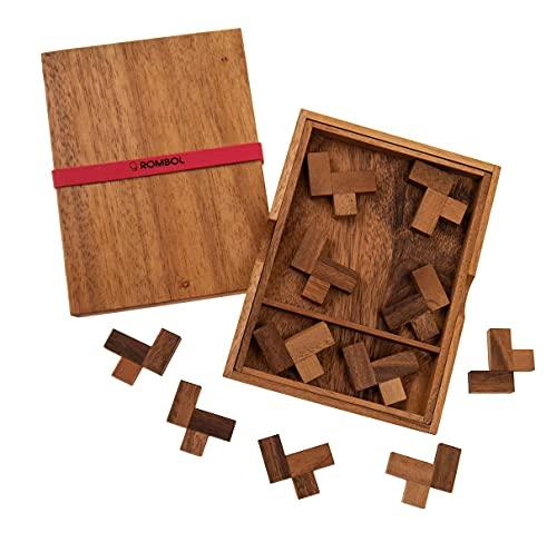 ROMBOL Eleven L Puzzle - kniffliges Packproblem für die ganze Familie