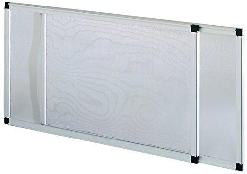Vigor 75010 mosquitera, extensible, anodizado, Altura de 50 x 70