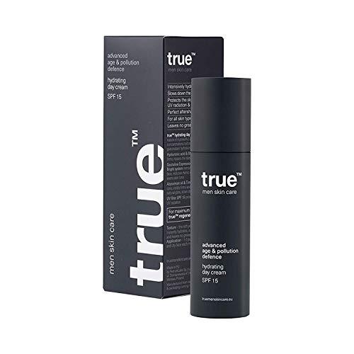 Anti Aging Creme für Herren Gesichtscreme Hydrating Day Cream SPF15 Feuchtigkeitsspendende Tagescreme 50ml - UV Schutz - Hautpflege - 100{ceea4e4d4f148157432db74b73df99e5b20c4a39ab37a6d5b530ed5bf935fc1c} Vegan und Hergestellt in Europa