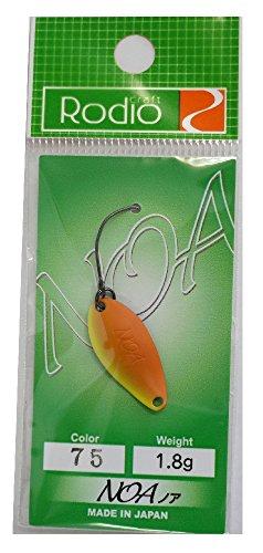 Rodiocraft(ロデオクラフト) スプーン ノア 1.8g N.O2(2011奥山カラー) #75 ルアー