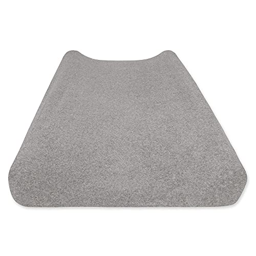 """of lambs ivy crib beddings dec 2021 theres one clear winner Burt's Bees Baby - Knit Terry Changing Pad Cover, 100% Organic for Standard 16"""" x 32"""" Changing Pad (Heather Grey)"""