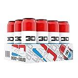 Bebida energética 3D - Rojo Blanco y Azul
