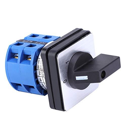 Interruptor de 2 posiciones, interruptor selector, para fábricas, talleres, equipos de producción industrial Iluminación eléctrica