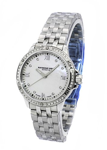 Raymond Weil Tango Mother of Pearl Diamond Dial Ladies Watch 5960-STS-00995
