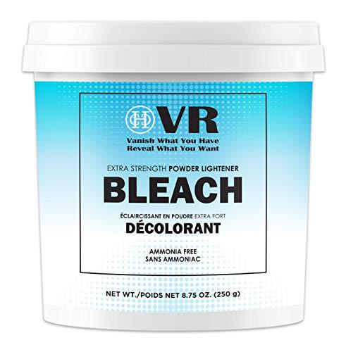 VR Blue Bleaching Hair Powder Extra Strength Lightener & Toner by Cocohoney, Made in Italy (8.75 oz (250 g))