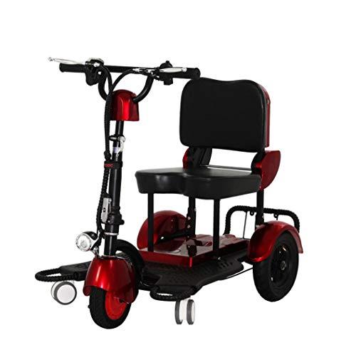 Dreirad dreirädriges Elektrofahrrad für Erwachsene Klappbares Dreirad für ältere Menschen kleines Reisebüro, das eine intelligente Roller-Lithiumbatterie 48V12AH fährt