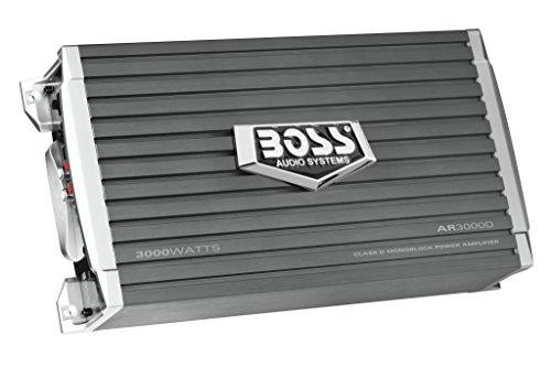 BOSS Audio Systems AR3000D Class D Car Amplifier - 3000 Watts, 1 Ohm Stable, Digital, Monoblock, Mosfet Power Supply