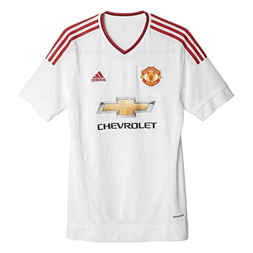 adidas Manchester United FC Away Jersey [White/REARED] (M)
