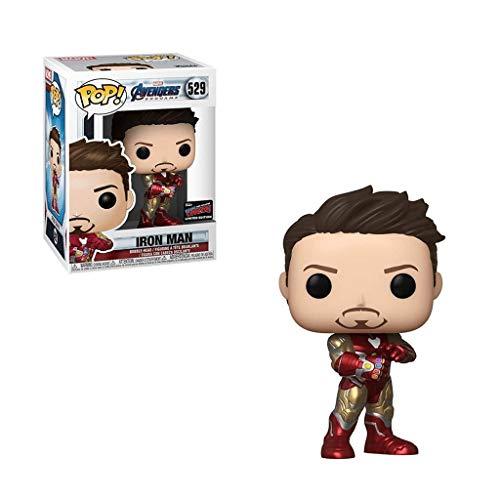 CQ Pop: Vengadores Fin del Juego Iron Man Chibi Figura Coleccionable de Serie Movie Toys