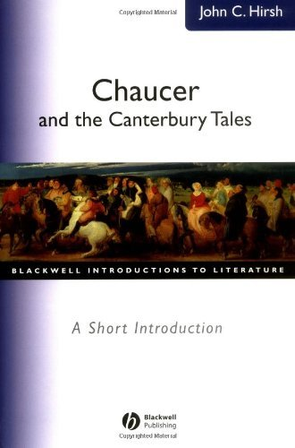 Chaucer and the Canterbury Tales: A Short Introduction (Wiley Blackwell Introductions to Literature Book 7) (English Edition)
