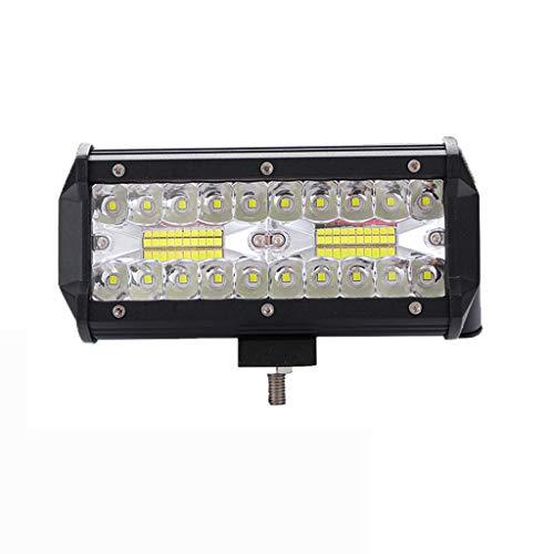 400W Luz de Trabajo LED Cuadrada proyector de coche, Faros de Trabajo LED 12V/ 24V Foco LED Impermeable para Coche para ATV Jeep SUV Excavadora Camión Ttractorluces