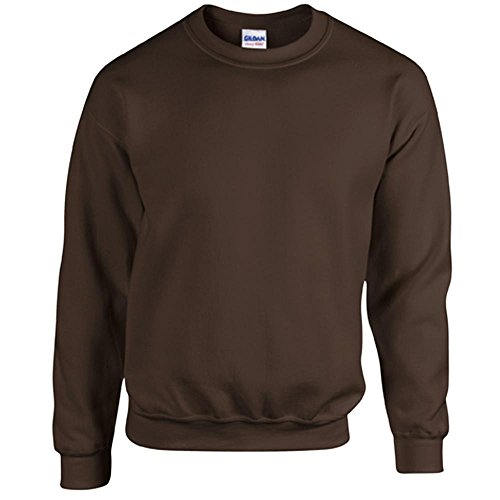 Gildan - Heavy Blend Sweatshirt - S, M, L, XL, XXL, 3XL, 4XL, 5XL /Dark Chocolate, L