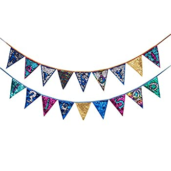 Best triangle decorative flags Reviews