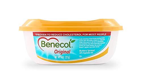Benecol Orginal Spread, 8 Oz (Pack of 6)