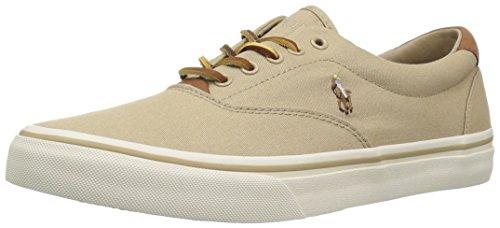 Polo Ralph Lauren Herren Thorton Sneaker, Khaki, 43 EU