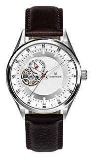 ORPHELIA Herren Analog Automatik Uhr mit Leder Armband OR91800 (B07N9LZVFM)   Amazon price tracker / tracking, Amazon price history charts, Amazon price watches, Amazon price drop alerts