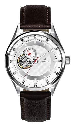 ORPHELIA Herren Analog Automatik Uhr mit Leder Armband OR91800