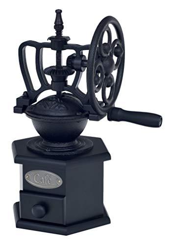 Victor Cast Iron Coffee Grinder, Black, 19 x 12 x 25 cm