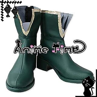 ●●サイズ選択可●●女性22.5CM MJR1860 コスプレ靴 ブーツ 魔法少女まどか☆マギカ 美樹さやか