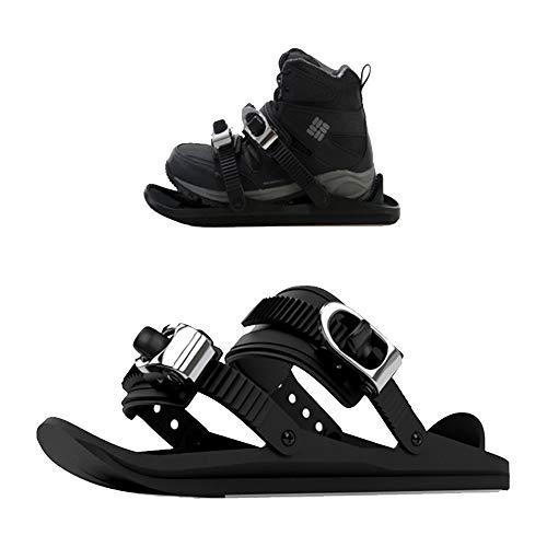 LANTELSHANO Winter Skischuhe Freestyle Erwachsene Kinder Universal Snowboard Mit Hoher Dichte Nylon Außen Multi-Terrain-Sportgeräte Geeignet Für Schuhe Stiefel