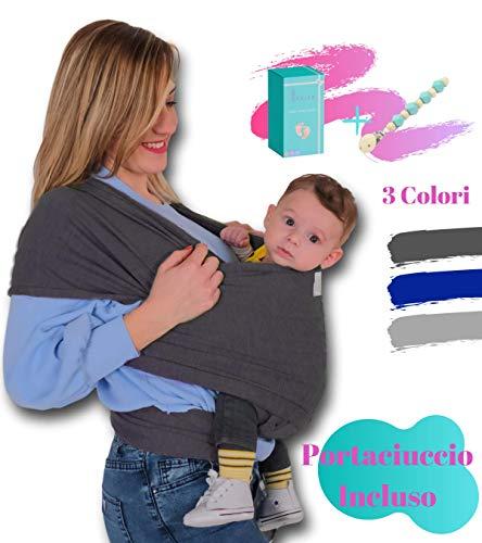 Porta beb/é para Madre y Padre Un Tama/ño para Todos Calidad superior Pasa el rat/ón por encima de la imagen para ampliarla CUBY Fular Portabeb/é Unisex Multiuso