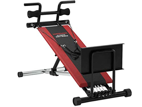Product Image 24: Weider Ultimate Body Works Black/Red, Standard
