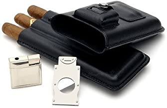 Best cigar case with cutter and lighter Reviews