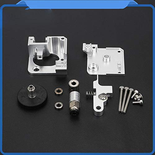 Silver All Metal Titan Aero Extruder 1.75mm for Prusa I3 MK2 3D Printer for Both Direct Drive and Bowden Mounting Bracket Photo #1