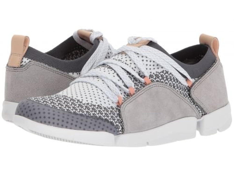 奇妙な一時停止上に築きますClarks(クラークス) レディース 女性用 シューズ 靴 スニーカー 運動靴 Tri Amelia - Grey Combination [並行輸入品]