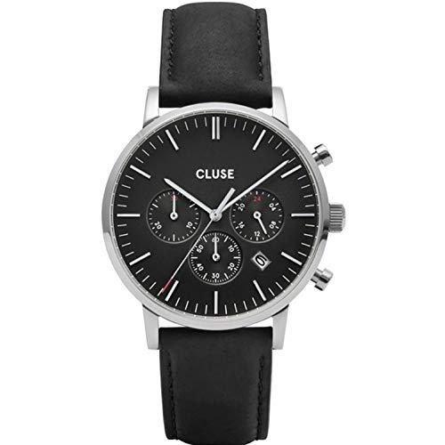 Cluse Aravis Reloj de hombre cuarzo 40mm correa de cuero CW0101502001