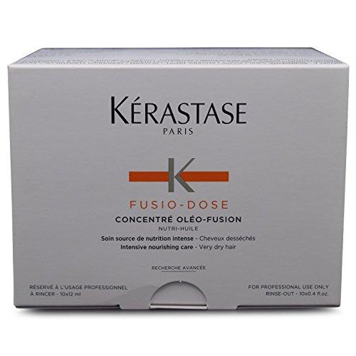 Kerastase Fusio-Dose Concentre Oleo-Fusion Nutri Huile Intenbsive Nutritive Treatment (Very Dry & Sensitized Hair) - 10x12ml/0.4oz