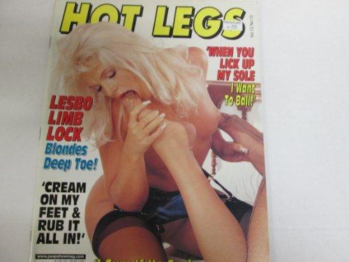 Hot Legs Men's Magazine 'Tina & Jenny' 'Britney Spears' 2002