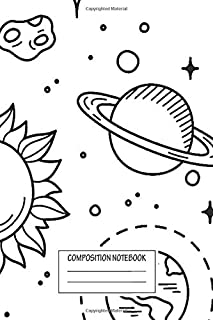Notebook: Space Tumblr Drawing , Journal for Writing, Size 6