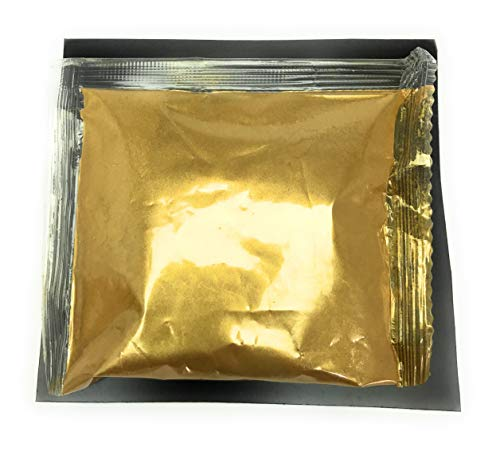 Metallic Pulver essbare Farbe je 5g (gold gelbgold)
