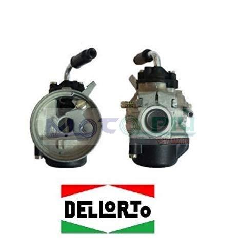 Dell'Orto - Carburador SHA 14 14L para ciclomotores Mini Cross Mini Quad 50 cc