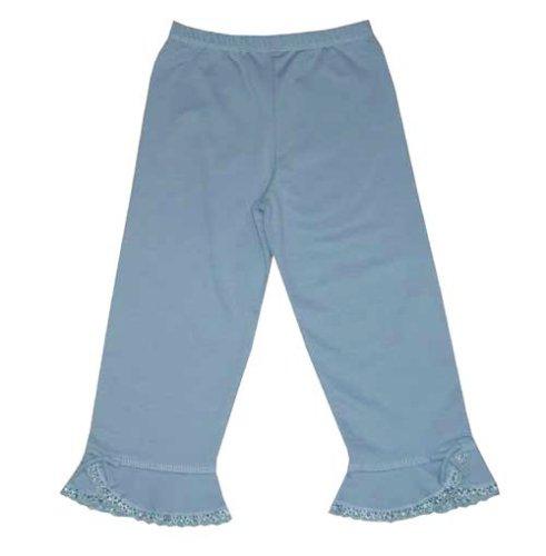 Lana Natural Wear - Pantalon - Bébé Fille - Bleu (Aqua) - FR: 3 Mois (Taille Fabricant: 62/68)