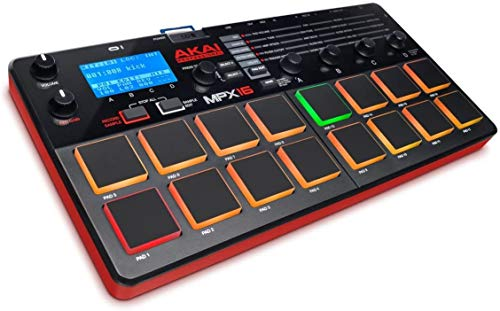Akai Professional MPX16 | Portable Finger Drumming Sample Pad Controller