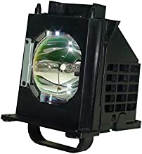 JTL 915B403001 Replacement Lamp with Housing for Mitsubishi TV WD-60735, WD-60737, WD-60C8, WD-82837 (915B403001)