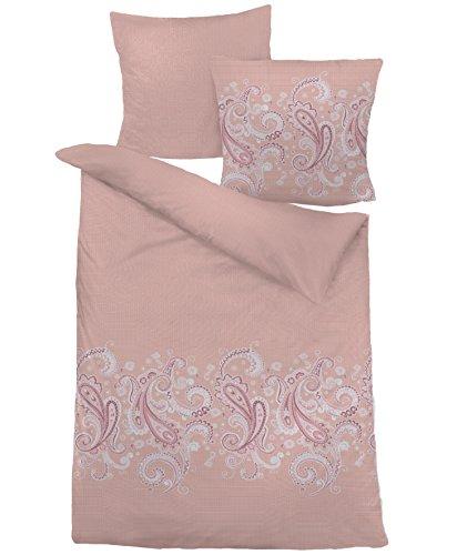 Dormisette Bettwäsche Baumwolle Renforce mit Reißverschluss 155x220 80x80 (6060)