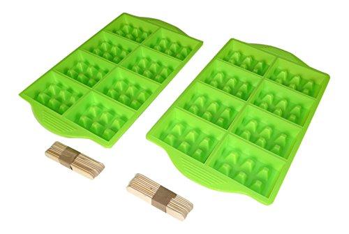 YOKO DESIGN 1299 Mini GAUFRES Party, Autre, Vert, 32 cm x 18 cm x 3 cm