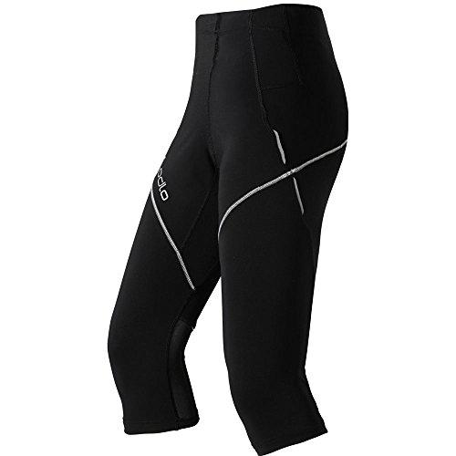 Odlo Collant 3/4 Pantalon Stormer L Noir - Noir