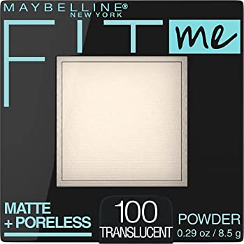 Maybelline New York Fit Me Matte + Poreless Powder Makeup Translucent 0.29 Ounce Pack of 1