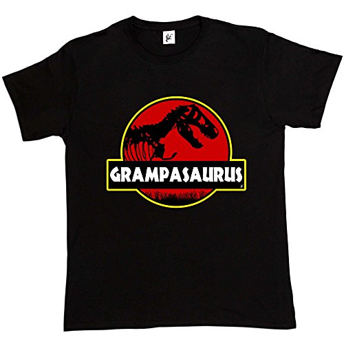 Fancy A Snuggle Grampasauras Grandad Grampa Funny Fathers Day T- Rex Old...