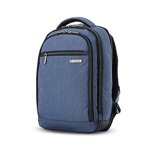 Samsonite Modern Utility Mini Laptop Backpack, Blue Chambray, One Size
