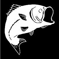 5 ピース 車のステッカー シール 16CM * 16.2CMかわいい魚の車のステッカーウィンドウアートの装飾ビニールデカール シール