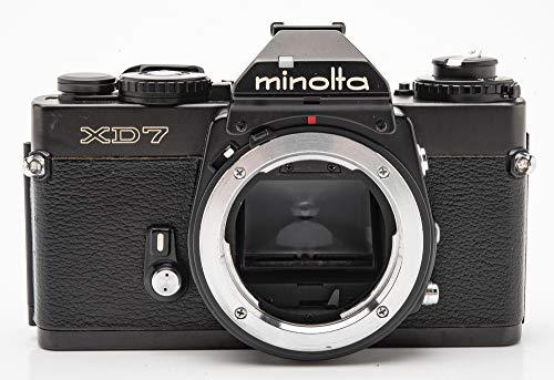 Minolta XD-7 XD7 XD 7 Body Gehäuse SLR Kamera Spiegelreflexkamera schwarz Black