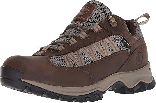 Timberland Men's Mt. Maddsen Lite Low WP, Dark Brown, 10 Medium US