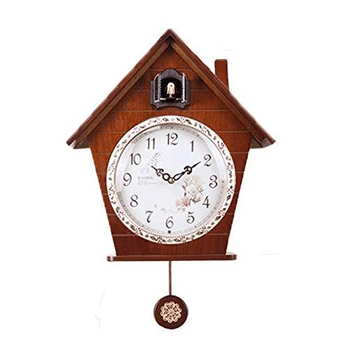 Orologio a cucù moderno kookoo orologi da parete decorativi a muro cuculo orologio orologio creativo per bambini camera soggiorno silent uccello uccello orologio master squadroom decorazione della