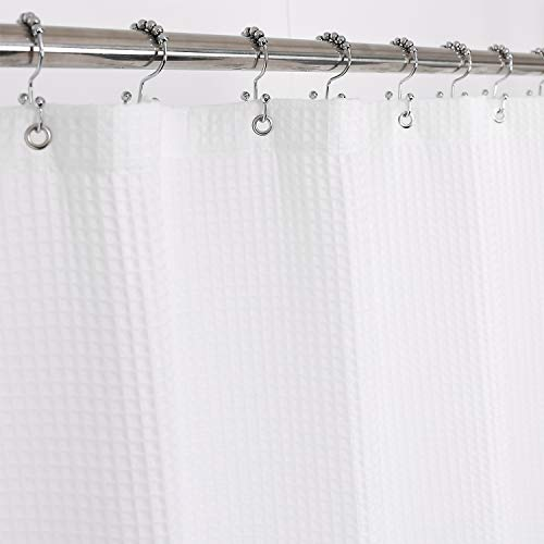 Barossa Design Fabric Shower Curtain Cotton Blend 78 inch...