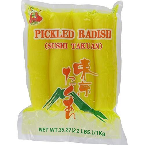 PICKLED RADISH Eingelegter Rettichscheiben, 14 x 1 kg